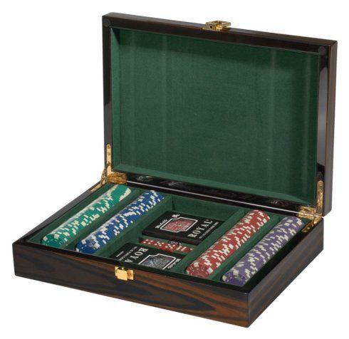 $336.00 Ebony Poker Set TIZ-696