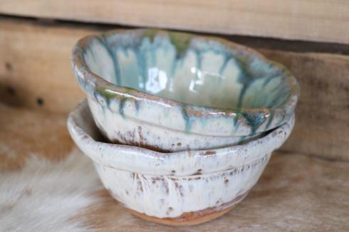 Etta B Pottery  Serving Pieces New Small Dip Bowl Assorted EBP-049 $36.00