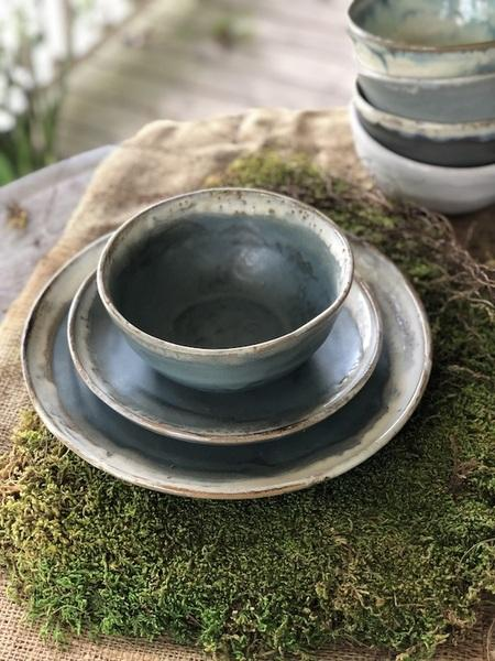 Etta B Pottery  Dinnerware - Townhouse Serene Coffee Mug EBP-754 $41.00