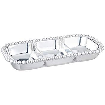 Babcock Exclusives  Mariposa Pearled 3 Section Tray MAR-397 $98.00