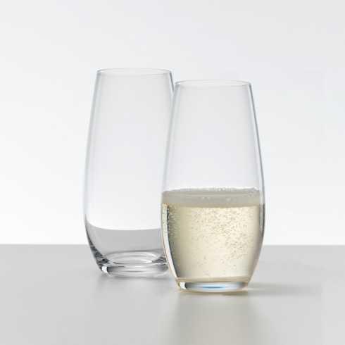 """$29.90 """"O"""" Champagne Tumbler Pair R-915"""