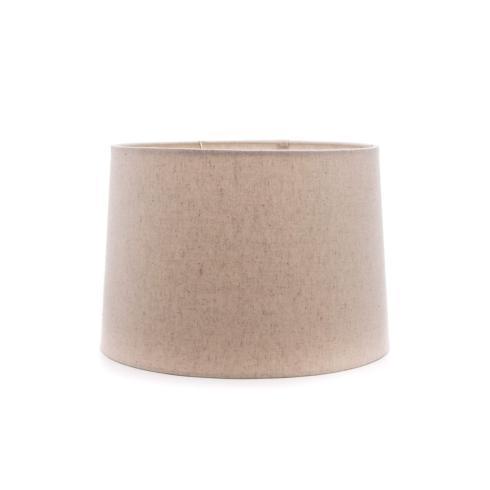 "Simon Pearce  Lampshades 13"" Natural Linen Barrel Shade SPL-203 $90.00"