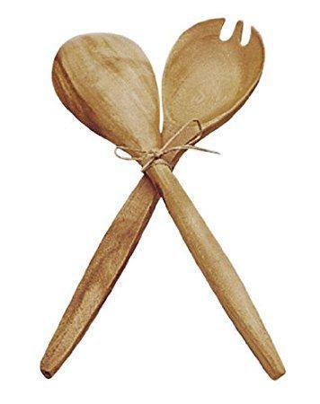 "$16.00 14"" Fork & Spoon Serving Set PMTC-079"