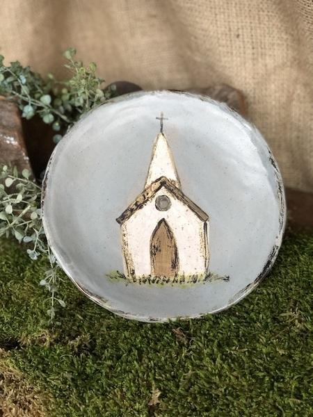 $50.00 Small Church Plate EBP-421