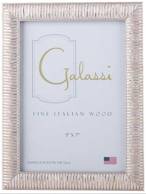 F.G. Galassi   8x10 Silver Linear Frame FGH-037 $44.00