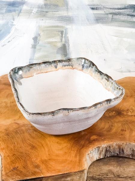 Etta B Pottery  Serving Pieces Deep Square bowl EBP-394 $75.00