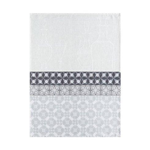 Le Jacquard Francais   Carafes Grey Tea Towel LJ-564 $34.00