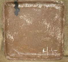McCarty Pottery   Square Tray Large Assorted MCP-310 $54.00