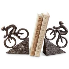SPI   Racing Bicyclist Bookends SPC-076 $54.00