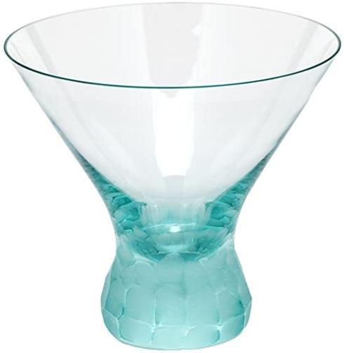 Moser   Pebbles Stemless Martini Beryl MSR-171 $150.00
