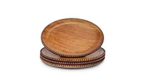 Mango wood Beaded Charger GGC-006