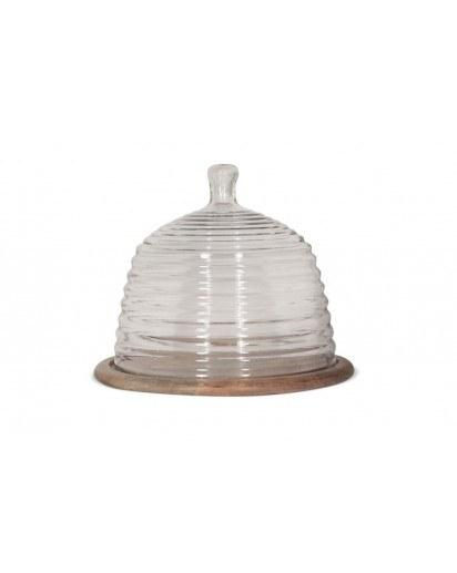 Montes Doggett  Serving Pieces Wood Base w/Beehive Dome Large MDT-154 $83.00