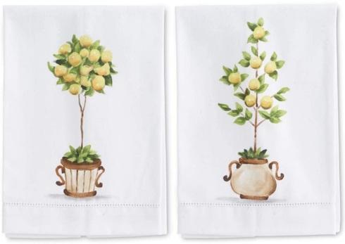 Babcock Exclusives  K&K Interiors Lemon Topiary Guest Towel Assorted KAK-039 $16.00