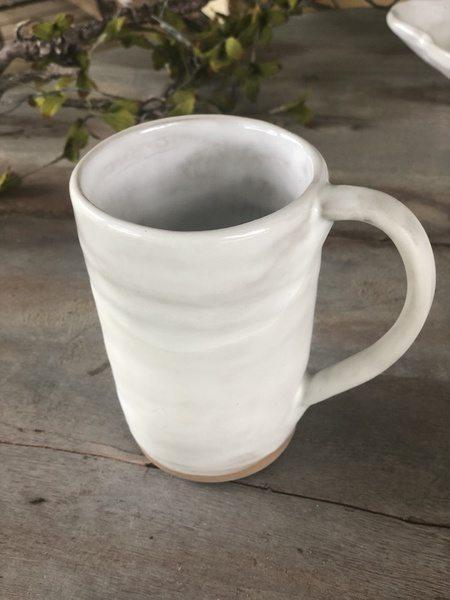 Etta B Pottery  Dinnerware - Townhouse Pearl Coffee Mug EBP-734 $42.00