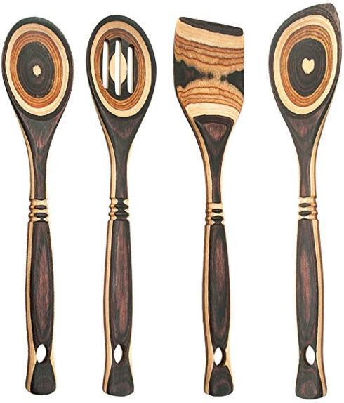 """Island Bamboo   Natural Pakka 12"""" Spatula ILB-029 $12.00"""