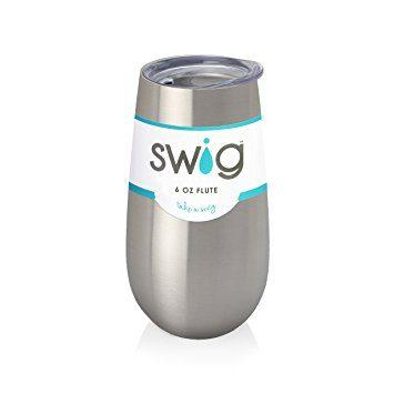 Babcock Exclusives  Swig 6oz. Stainless Flute SWG-046 $19.99