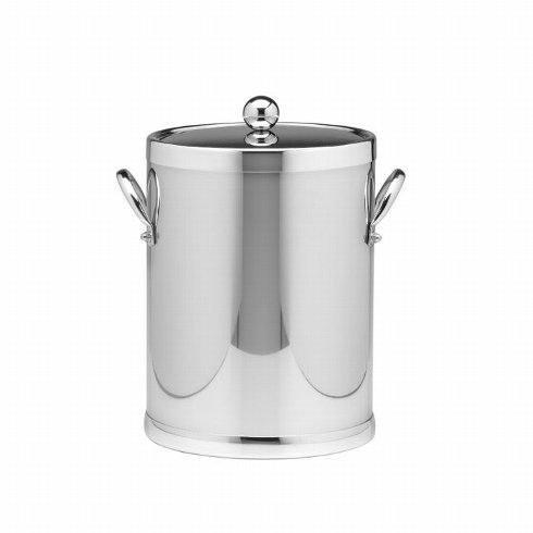 Kraftware   5qt Brushed Chrome Ice Bucket K-127 $85.00