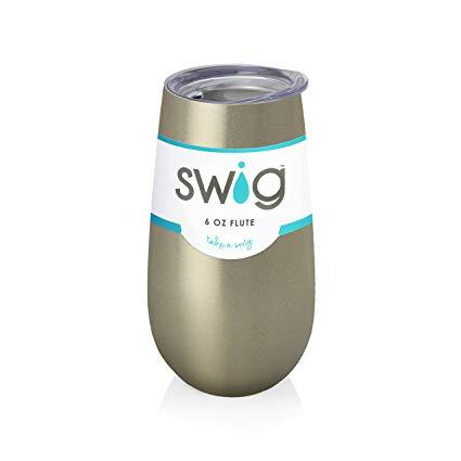 Babcock Exclusives  Swig 6oz Gold Flute SWG-006 $17.95