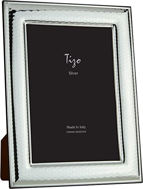 Tizo Designs   5x7 Italian S/P Hammered Frame TIZ-176 $53.00
