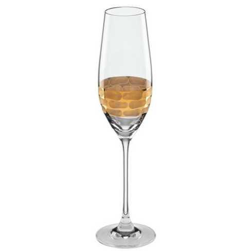 Michael Wainwright   Truro Gold Champagne Flute MWP-303 $40.00