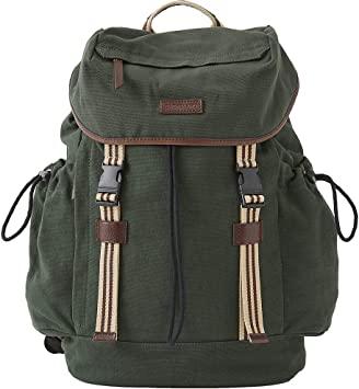 Babcock Exclusives  Baekgaard Sloan Backpack Canvas Green BKD-017 $138.00
