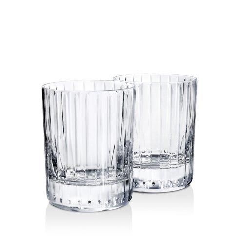 $280.00 Harmonie Tumbler #2 Double Old Fashioned set/2 BCR-133