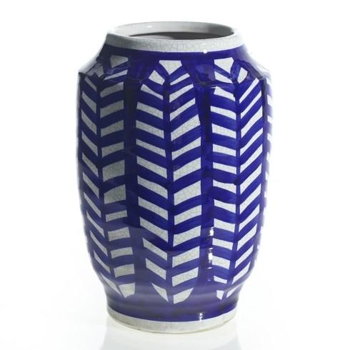 "Accent Decor   Inca Blue Vase 8x12.5"" ACD-012 $62.00"