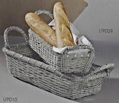 $18.50 Aluminum Rect Basket DES-006