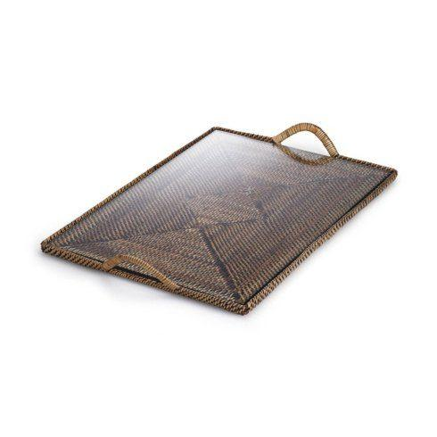 Calaisio   Rectangular Cocktail Tray w/Glass CAL-153 $90.00