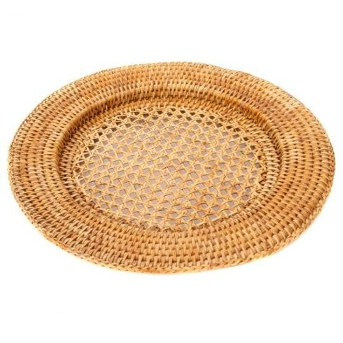 Babcock Exclusives  Artifacts Rattan Wicker Charger ATC-005 $19.00