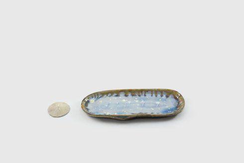 Alison Evans  Abalone & Tortoise Small Razor Clam AEC-034 $82.00