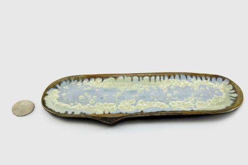 Alison Evans  Abalone & Tortoise Large Razor Clam AEC-035 $122.00