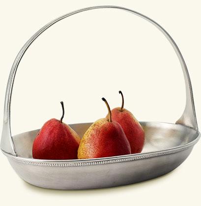 $235.00 Oval Basket Bowl MTH-356