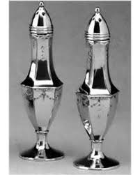 $78.00 4.75inch Pewter Salt and Pepper BDM-500