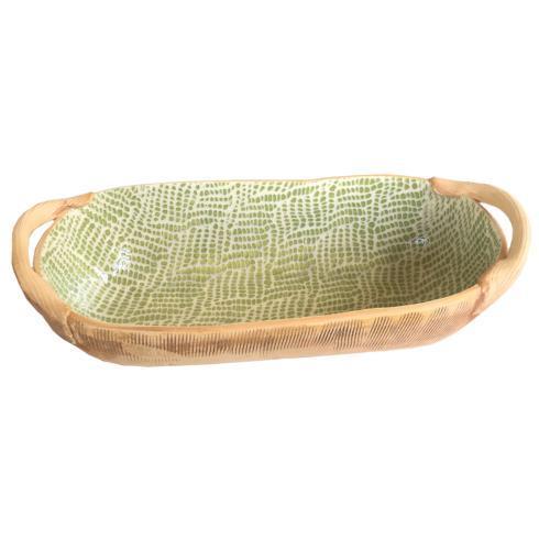 Terrafirma  Citrus Citrus Braid Bread Basket w/Handles TCI-296 $144.00