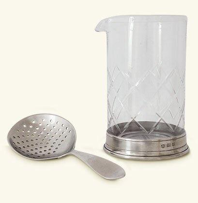 $240.00 Mixing Glass & Strainer Set MTH-508