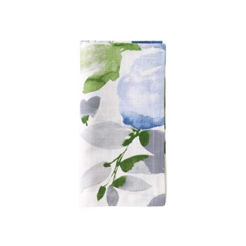 Bodrum   Bouquet Blue Napkin BDR-173 $15.50