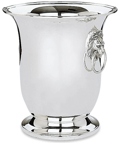 Babcock Exclusives  Reed & Barton Lion\'s Head Wine Cooler SSC-253 $350.00