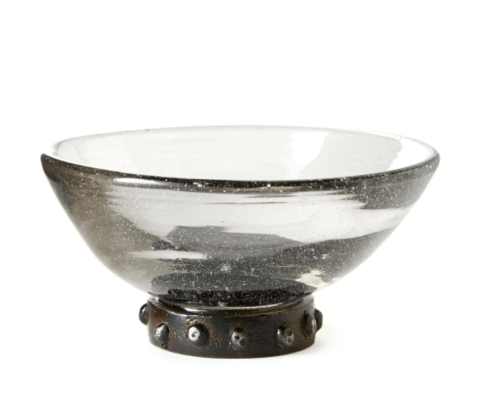 $75.00 Pulque Bowl on Beaded Stand JBL-211