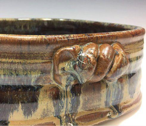 Babcock Exclusives  Steve Tubbs Pottery Antique Iron Large Rectangular Casserole STP-125 $75.00