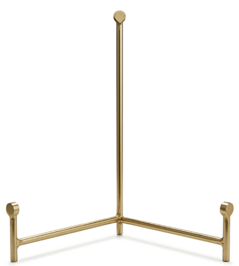 $42.00 Le Cirq Medium Gold Easel NAP-514