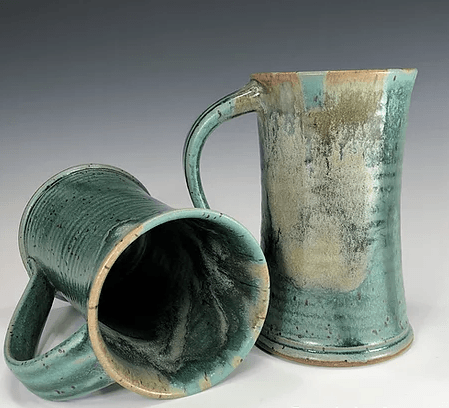 Babcock Exclusives  Steve Tubbs Pottery Everglade Tall Cafe Mug STP-200 $34.00