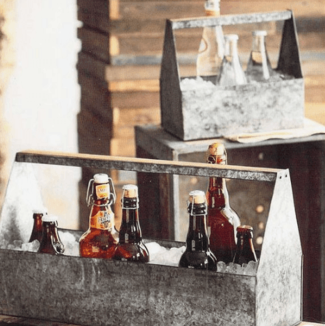 Babcock Exclusives  Roost Small Galvanized Thirst Ice Caddy RST-168 $46.00