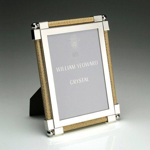 William Yeoward  Picture Frames 8x10 Classic Raffia Frame WYG-053 $350.00