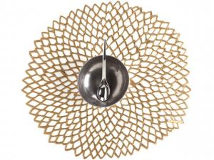 Chilewich   Dahlia Brass Mat CWH-035 $10.00