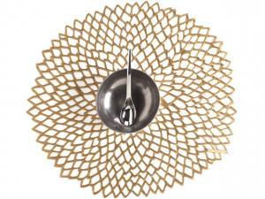 $10.00 Dahlia Brass Mat CWH-035