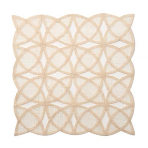 $21.00 Sinamay Natural Tile Mat DRH-234