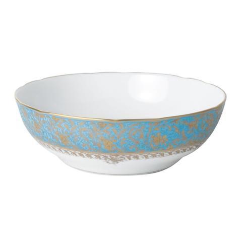 Bernardaud  Eden Turquoise Open Vegetable Bowl BL-248 $662.00