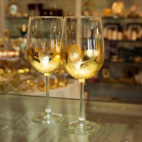 ELM Designs   Gold Leaf White Wine EMD-003 $31.50