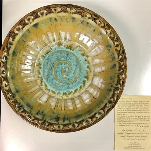 Babcock Exclusives  T. Gill Pottery Thank You Bowl TGL-014 $44.00